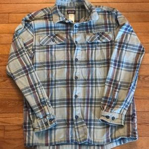 Patagonia Men's Flannel Shirt, Size M